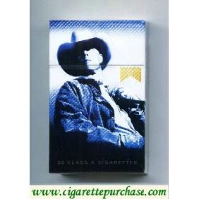 Discount Marlboro Special Edition Barretos 2007 Cowboy com a mão no bolso gold cigarettes hard box