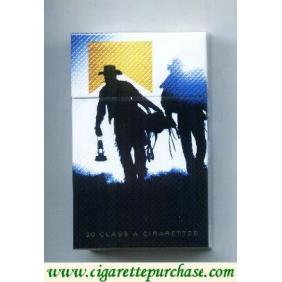 Discount Marlboro Special Edition Barretos 2007 Cowboy levando cela e lampião gold cigarettes hard box