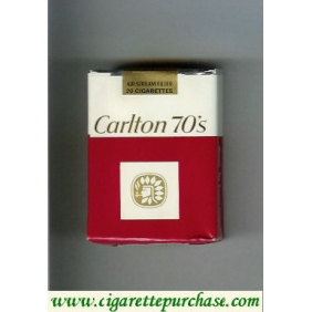 Discount Carlton 70s cigarettes Filter