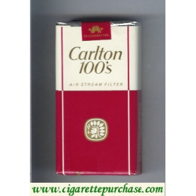 Discount Carlton 100s cigarettes air stream Filter