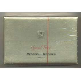 Discount Benson and Hedges Special Filter king size cigarettes
