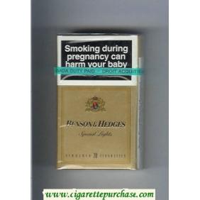 Discount Benson Hedges Special Lights cigarettes