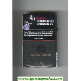 Discount Benson and Hedges cigarettes Black