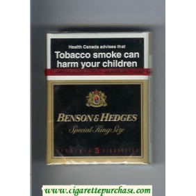 Discount Benson and Hedges cigarettes Special King Size Virginia