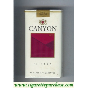 Discount Canyon Filter 100s cigarettes