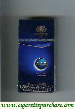 555 Smooth Full Flavour Cigarettes English version