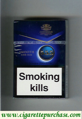 555 Smooth Blue [Full Flavour] Cigarettes English version