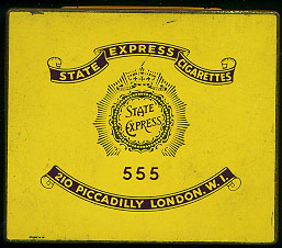 Discount 555 State Express 210 Piccadilly London Cigarettes