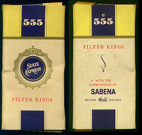Discount 555 State Express Filter Kings sabena Cigarettes