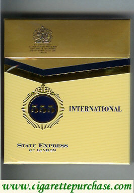 Discount 555 State Express of London International Cigarettes