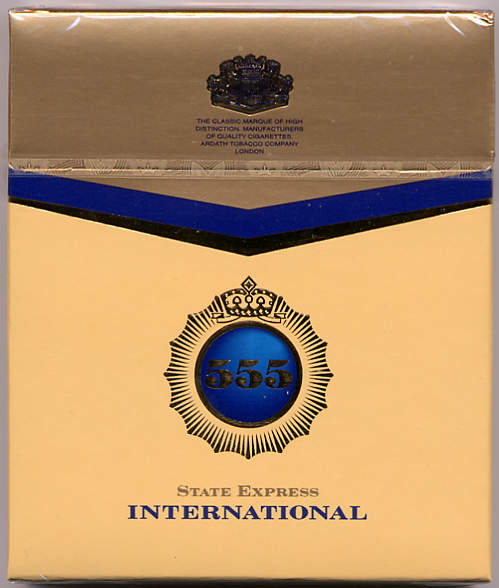 555 State Express International Cigarettes