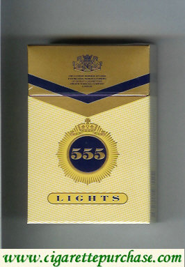 Discount 555 Lights State Express Cigarettes Russia