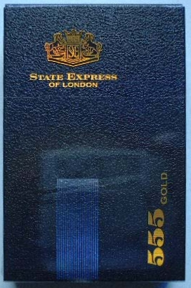 Discount 555 Gold State Express Cigarettes