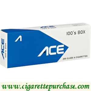 Discount ACE 100's Box Cigarettes
