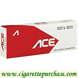 ACE 100's Red Box Cigarettes