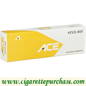 ACE Kings box Cigarettes