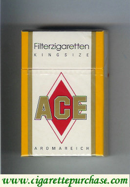 ACE cigarettes filterzigaretten Germany
