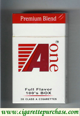 A One 100s Premium Blend Full Flavor cigarettes