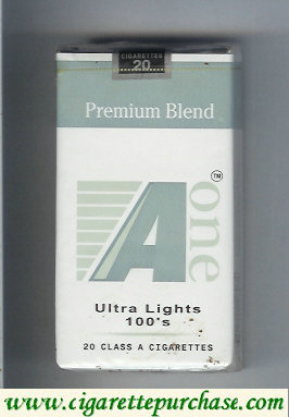 Discount A One Ultra Lights 100s cigarettes