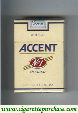 Accent No.1 Original Cigarettes Sweden