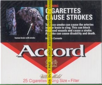 Accord Ultra Mild Cigarettes