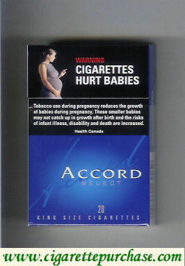 Discount Accord Select Light Cigarettes