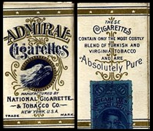 Admiral Cigarettes USA