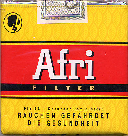 Afri Filter shirt cigarettes
