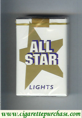 All Star Lights cigarettes