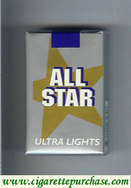 Discount All Star Ultra Lights cigarettes