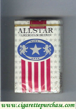 Discount All Star American Blend cigarettes