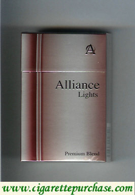 Alliance Lights Premium Blend cigarettes