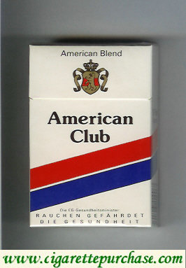 Discount American Club cigarettes Germany