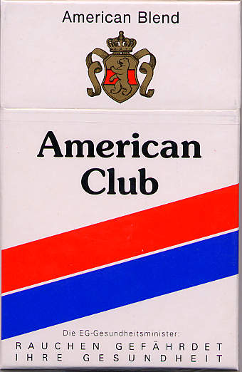 Discount American Club Extra cigarettes USA