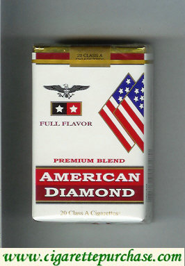 Discount American Diamond cigarettes Full Flavor Premium Blend