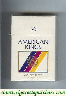 American Kings cigarettes USA