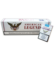 American Legend Cigarettes white