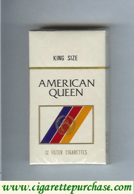 Discount American Queen Filter cigarettes USA
