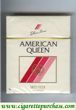 Discount American Queen Sweet Filter cigarettes