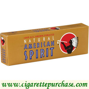 Discount Anfa/American Spirit Cigarettes 100% US Grown Mellow