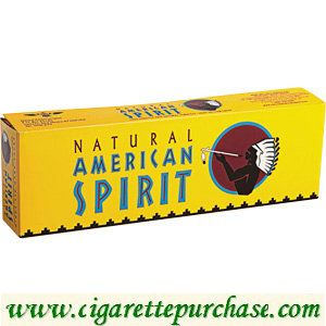 Discount American Spirit Cigarettes Mellow Taste Yellow Box