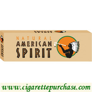 Discount American Spirit Cigarettes Non-Filter 85 Brown Box