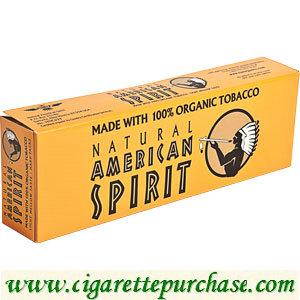 Discount American Spirit Cigarettes Organic Mellow Taste Gold Box