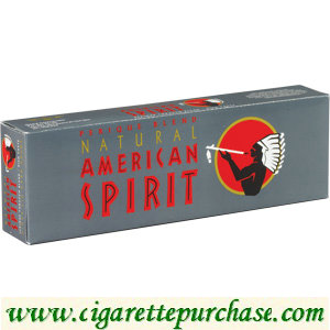Discount American Spirit Cigarettes Perique Rich Taste Gray Box