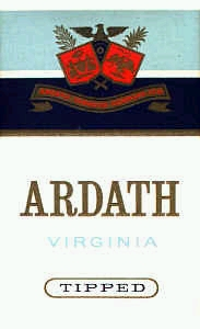 Ardath cigarettes Virginia Tipped