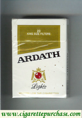 Discount Ardath Lights cigarettes