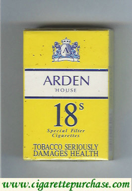 Arden House cigarettes Special Filter