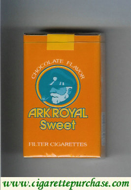 Ark Royal cigarettes Sweet Chocolate Flavor