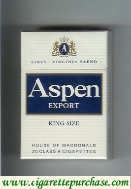 Aspen Export cigarettes