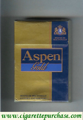 Aspen Gold cigarettes